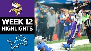 Download Vikings vs. Lions | NFL Week 12 Game Highlights Video
