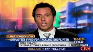 Download Fired for tackling shoplifter Video