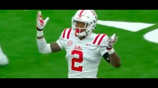 Download Montrell Custis #2 (DB) Highlights Week 1 (2018) Ole Miss vs. Texas Tech || 7 TKLS, 1 TFL, 4 PBU Video