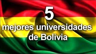 Download las 5 mejores universidades de bolivia Video