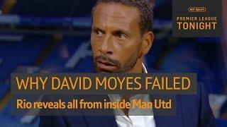 Download Rio Ferdinand reveals why David Moyes failed at Man Utd 🔥 | Premier League Tonight Video