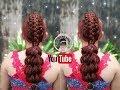 Download Trenza pullthrough trenza pluma/peinados Faciles y bonitos Video