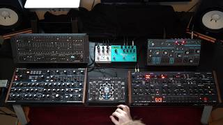 Download Ambient poly synth jam with the NDLR, Deckard's Dream, OB-6, Peak, Dreadbox Abyss, Polymoon, Big Sky Video
