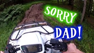 Download I buried dad's quad in mud! Honda foreman 500 4X4 Video