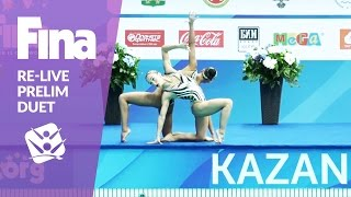 Download Re-Live - Preliminary Duet - FINA World Junior Synchronised Swimming Championships 2016 Video
