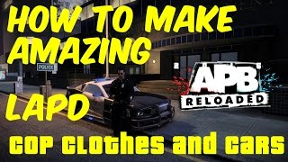 Download APB Reloaded Creat Amazing Cop | Police Clothing and Vehicles & Cars Video