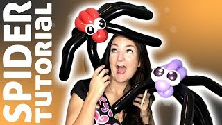 Download Spider Balloon Animal Tutorial - Learn Balloon Animals with Holly! Video