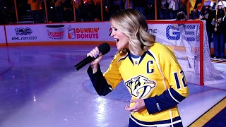Download Gotta Hear It: Carrie Underwood belts out anthem in Nashville Video
