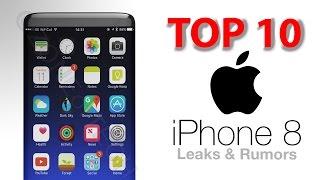 Download TOP 10 iPhone 8 - Leaks & Rumors! Video