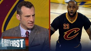 Download Doug Gottlieb reveals why he's putting Larry Bird and Jordan over LeBron James | FIRST THINGS FIRST Video