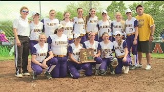 Download Champion softball punches ticket to State Final Four Video