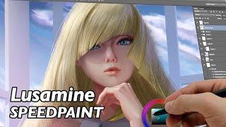 Download Lusamine (DIGITAL PAINTING) Video