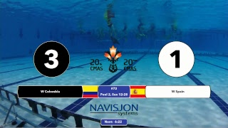 Download G72 - EW COL vs. ESP - 20th CMAS Underwater Hockey World Championships Video