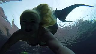 Download A Wish Come True: Swimming with Mermaid Melissa At Atlantis! Video