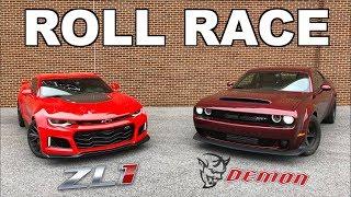Download 2018 Dodge Demon vs 2017 Camaro ZL1!!! Video