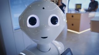 Download Pepper-robotti tuli Elisa Kulmaan Video