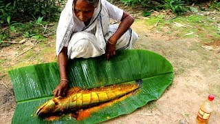 Download Buro Boal er BBQ Recipe by Grandmother in Village | Boal Fish Barbecue Video