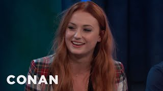 Download Sophie Turner & Maisie Williams Have Matching Tattoos - CONAN on TBS Video
