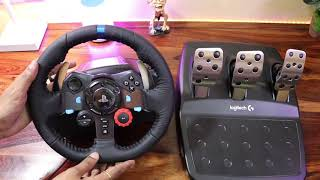 Download Logitech G29 Force Racing Wheel Unboxing For PS4 PRO Video