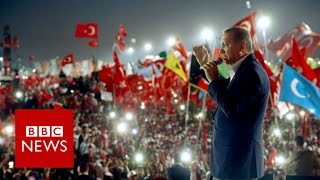 Download Turkey coup: Massive Istanbul rally hails Erdogan - BBC News Video