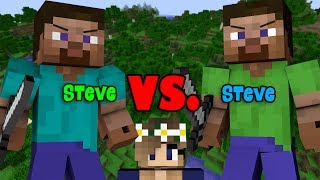 Download Steve VS Steve | INSANE DEADLIEST TRAP FIGHT - Minecraft Video
