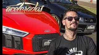 Download RACHÃO COM FÁBIO D2M: AUDI R8 V10 x GOL GTI TURBO - RACHA ACELERADOS #1 | ACELERADOS Video