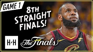 Download LeBron James Full Game 1 Highlights vs Warriors 2018 NBA Finals - 51 Pts, 8 Ast, 8 Reb Video