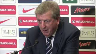 Download Roy Hodgson angry at England stats Video
