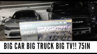 Download Organik vlog: just bought a 75in tv!!! And almost fought Best Buy worker!! Video