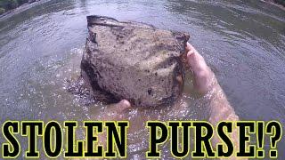 Download Found Stolen Purse in the River!? Georgia River Treasure!! Video