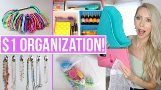 Download 20 Dollar Store Organization Ideas to Save You HUNDREDS! Video
