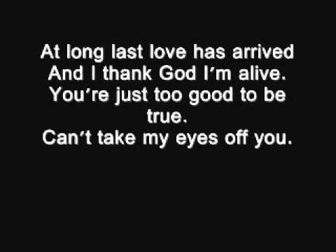 I love you baby - Frank Sinatra lyrics.wmv