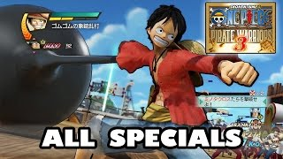 Download One Piece Pirate Warriors 3 All Specials   ワンピース 海賊無双3 Video