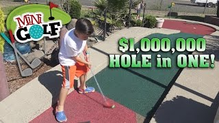 Download $1 MILLION HOLE IN ONE!!! Mini Golf Adventure! Video