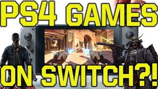 Download Nintendo Switch Games - PlayStation 4 games (PS4 games) on the Nintendo Switch?! (Switch Games) Video