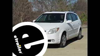Download Installation of a Trailer Wiring Harness on a 2005 Pontiac Vibe - etrailer Video