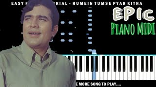 Humein Tumse Pyar Kitna Piano Videos In 3gp Mp4 4k Hd Download