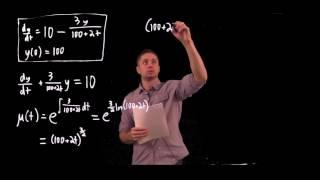 Download Mixing problem- integrating factors Video