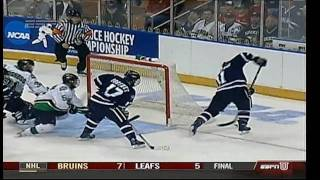 Download 2009 NCAA Northeast Regional - UNH vs North Dakota - Last 1:03/Overtime Video