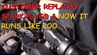 Download Customer Replaced Spark Plugs And Now It Runs Bad!? Video