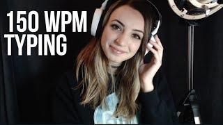 Download 150 WPM TYPING TEST (ASMR?) Video