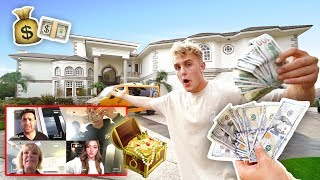 Download $1,000 TREASURE HUNT IN TEAM 10 MANSION (INSANE) Video