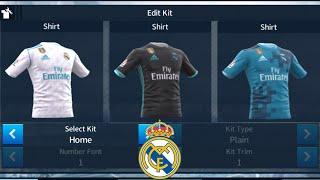 Download [แจกชุดเกมส์ดรีมลีก] เรอัล มาดริด 2017/18 | Real Madrid Kits 2017/18 Video