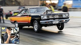 Download GARAGE SQUADS JOE ZOLPER'S HEMI GTX! FIRST TIME OUT SINCE '12! TESTING TO RACE HIS WIFE JENNY! Video
