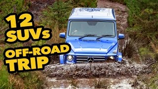Download 12 Mercedes SUVs for a Long OFF-ROAD Trip Video