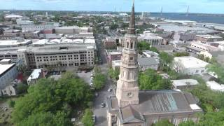 Download Flying around Charleston with new Phantom 4 Drone Video