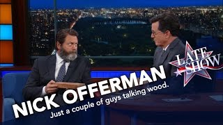 Download Nick Offerman Knows His Wood Video