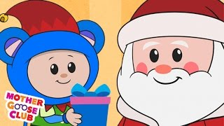 Download Christmas Song   Up on the Housetop   Mother Goose Club Kid Songs and Nursery Rhymes Video