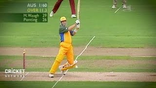 Download Gilchrist 'spewing' after missing Waugh's record Video