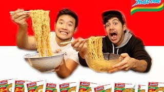 Download EATING INDOMIE FOR THE FIRST TIME Video
